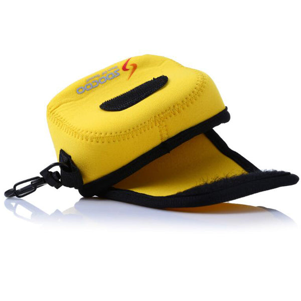 SOOCOO Nylon Yellow Action Camera Carrying Storage Bag with Strap Clip