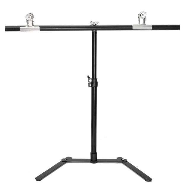 Background Stand Kit White Photo Studio Photography Backdrop Background With 2 Clips Setb