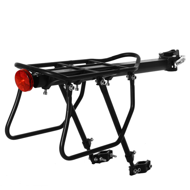 BIKIGHT Cycling Bicycle Mountain Bike Seat Post Rear Rack Mount Pannier Luggage Carrier Load 50KG