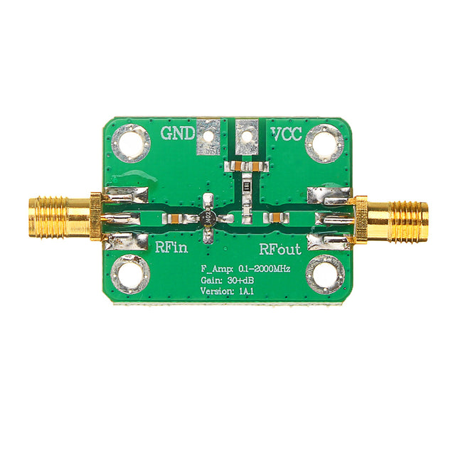 5-3500MHz Broadband Low Noise RF Amplifier LNA Gain 20dB