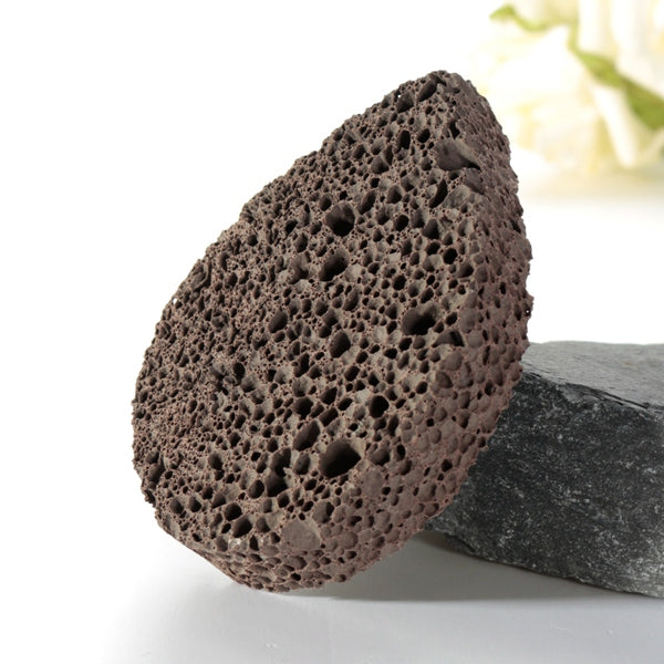 Water Drop Natural Volcanic Lave Pumice Foot File Stone Dead Skin Remover Scruber Pedicure