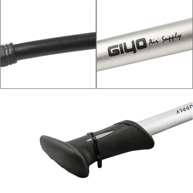 GIYO GS-02D 300PSI Mountain Bike Shock Absorber Fork High Pressure Bike Pump Bicycle Pump For Fork