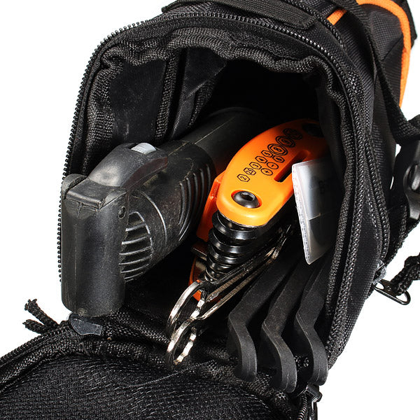 15 in 1 Multifunction Tool Bicycle Tools Kit Mountain Bike Tail Bag Bike Tire Repair Tools