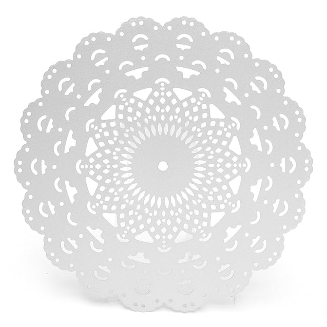 Round Flower Lace Cutting Dies Stencils DIY Scrapbooking Album Paper Card Craft