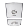 Car Electronic Handbrake AUTO H Buttons Cover For BMW 5 series F10 F18 Chrome ABS