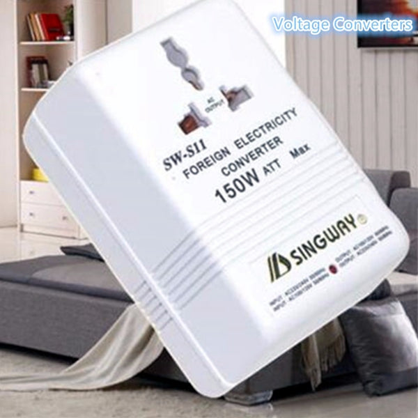 150W 240V to 110V Step Down&Up Voltage Converter Travel Power Adapter Transformer