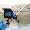 Fish Finder 4.3inch LCD Screen 1000TVL IP68 4LEDs Lamp Visible Fish HD Camera Sea Lake Fishing Tool