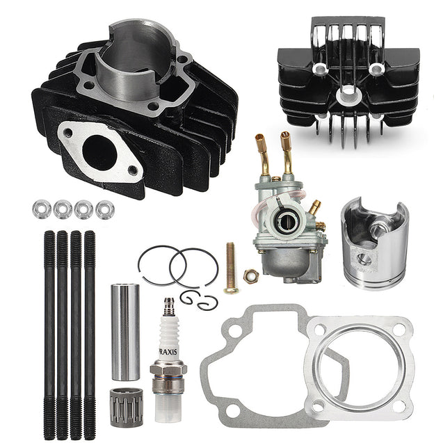 Cylinder Piston Gasket Head Top End Kit For Yamaha PW50 1981-2017
