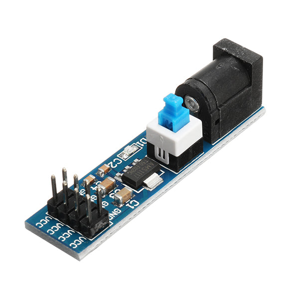 20Pcs AMS1117 5V Power Supply Module With DC Socket And Switch