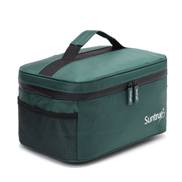 32x20.5x15cm Lunch Bag Portable Picnic Bag Waterproof Camping Food Pouch Container Storage Bag