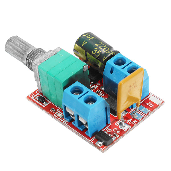 5Pcs 5V-30V DC PWM Speed Controller Mini Electrical Motor Control Switch LED Dimmer Module