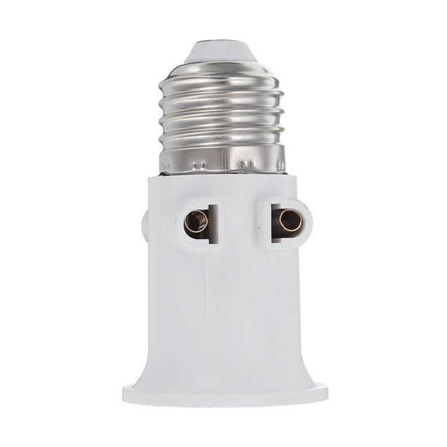 AC100-240V 4A E27 ABS EU Plug Connector Accessories Bulb Adapter Lamp Holder Base Screw Light Socket