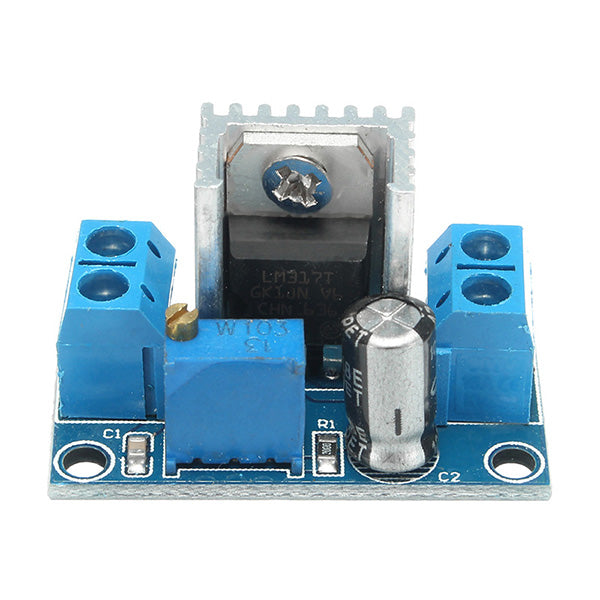 20pcs LM317 DC-DC 1.5A 1.2-37V Adjustable Power Supply Board DC Converter Buck Step Down Module