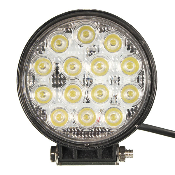 4.5 Inch 42W LED Work Spot Lightt Bar for Off Road SUV Truck 4WD ATV SUV