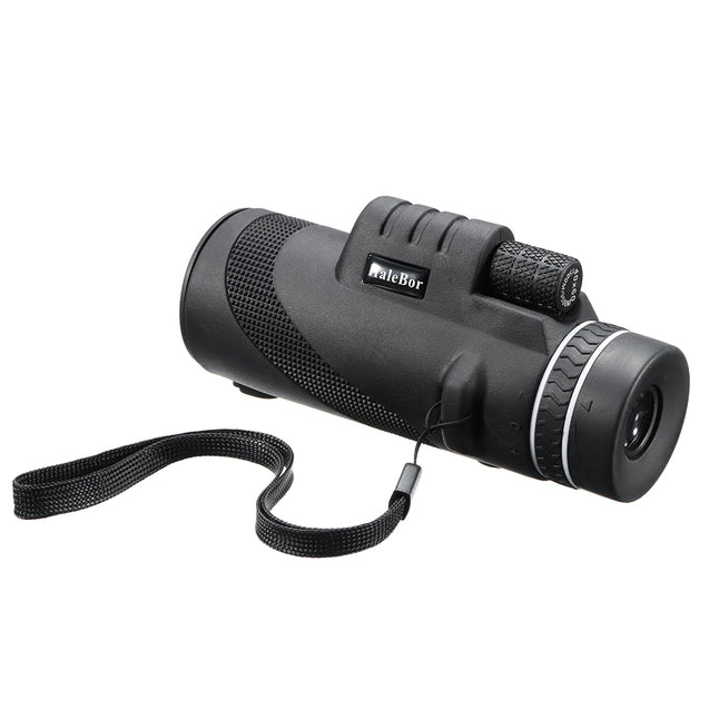 IPRee 40x60 Outdoor Portable Monocular HD Optic Day Night Vision Telescope Camping Hiking