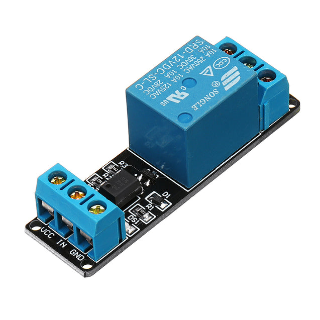 250A 10A DC12V 1CH Channel Relay Module Low Level Active For Arduino Home Smart PLC