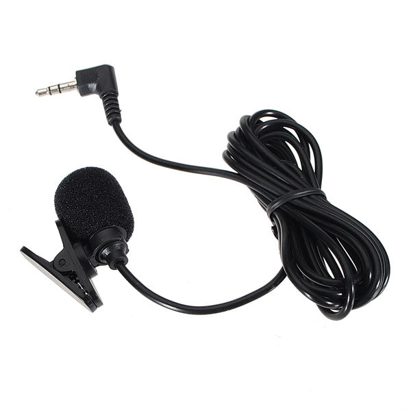3.5mm Hands Free Clip On Mini Microphone For PC Laptop MSN