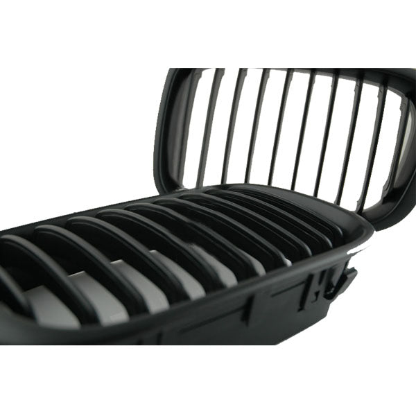 Black Front Grille for 02-05 BMW E46 3 Series 4door