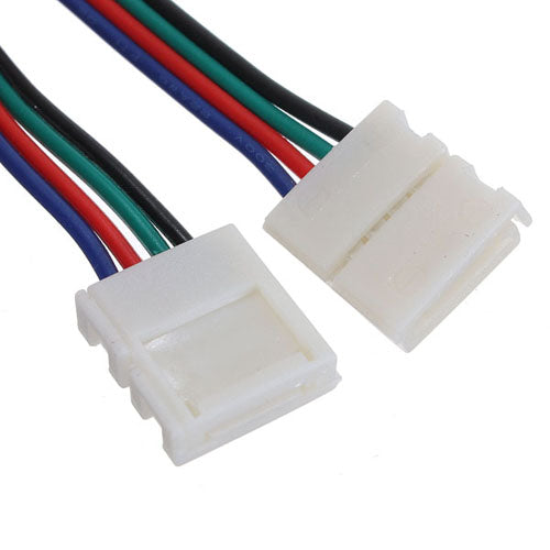 Led-to-led Connector 4-Pin Wire for 10mm Width RGB 5050 Strip