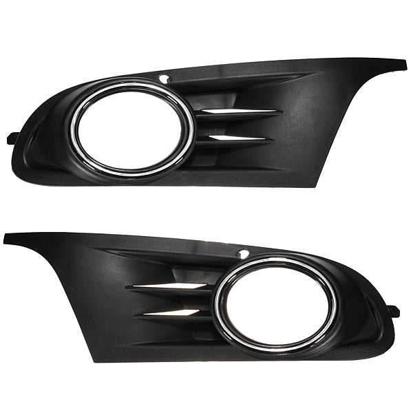 ABS Front Fog Light Grille Cover for VW GOLF JETTA MK6 S SE SEL TDI