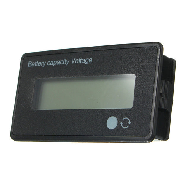 2Pcs 12V/24V/36V/48V 8-70V LCD Acid Lead Lithium Battery Capacity Indicator Board Digital Voltmeter