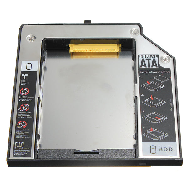 12.7mm SATA 2nd HDD Hard Drive Caddy for IBM Lenovo Thinkpad T420 T510