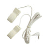 1Pcs 2.5mm Plug Tens Ear Clip Stimulator Electrode Lead Wire Ear Clamp for Tens Unit Massage Machine Cable Replacement