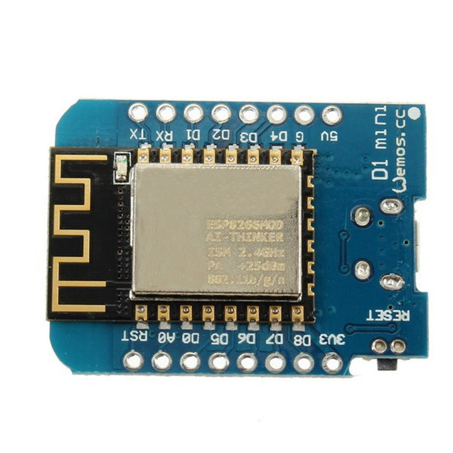 3Pcs WeMos D1 Mini V2 NodeMcu 4M Bytes Lua WIFI Internet Of Things Development Board Based ESP8266