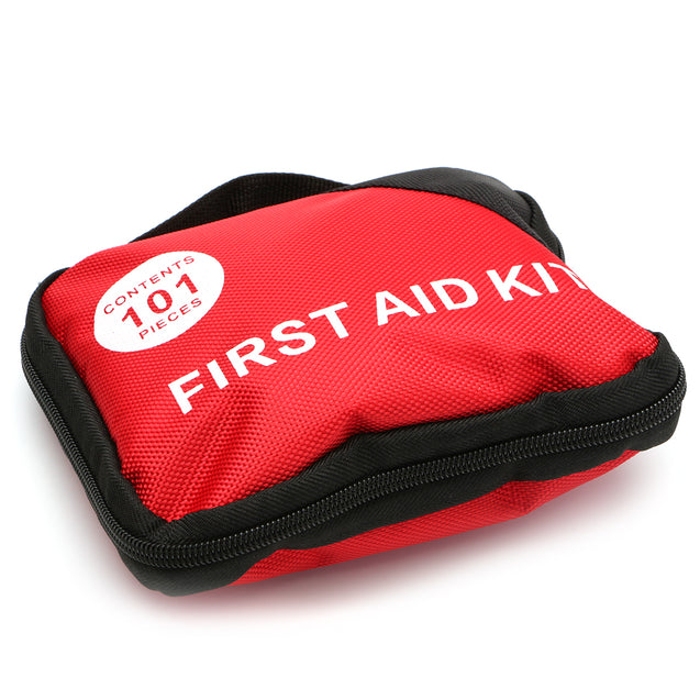 101 Pieces First Aid Kit Nylon Portable Outdoor Emergency Set Multi-functions Bag