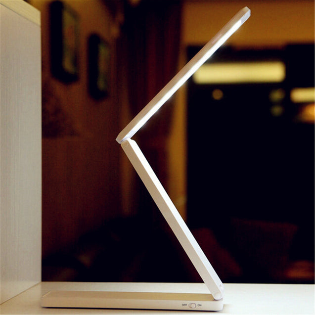 Portable Rechargeable Adjustable Foldable 16 LED Night Light Desktop Bedside Reading Lamp