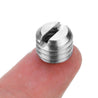 5pcs 1/4 to 3/8 Conversion Nut Screw Cap for Tripod