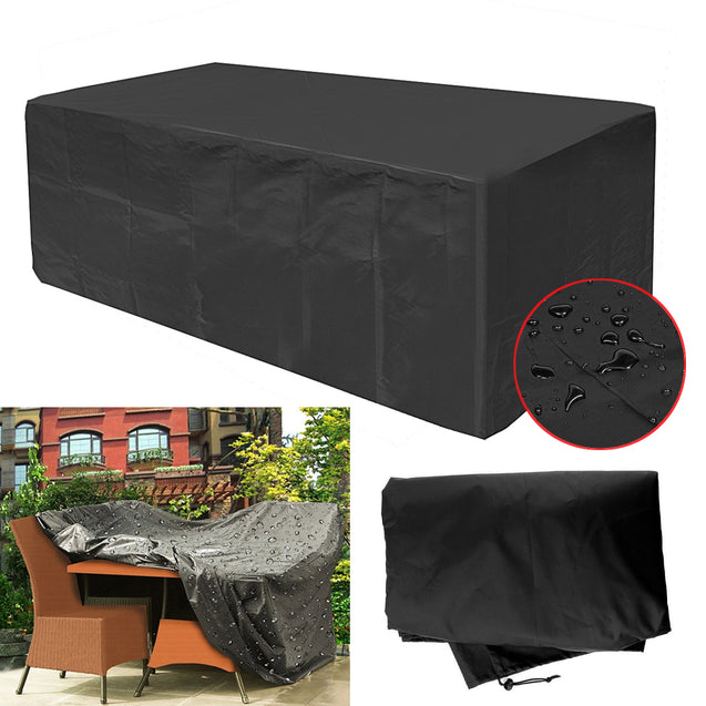270x180x89CM Garden Patio Furniture Dust Cover Waterproof Oxford Outdoor Rattan Table Protection