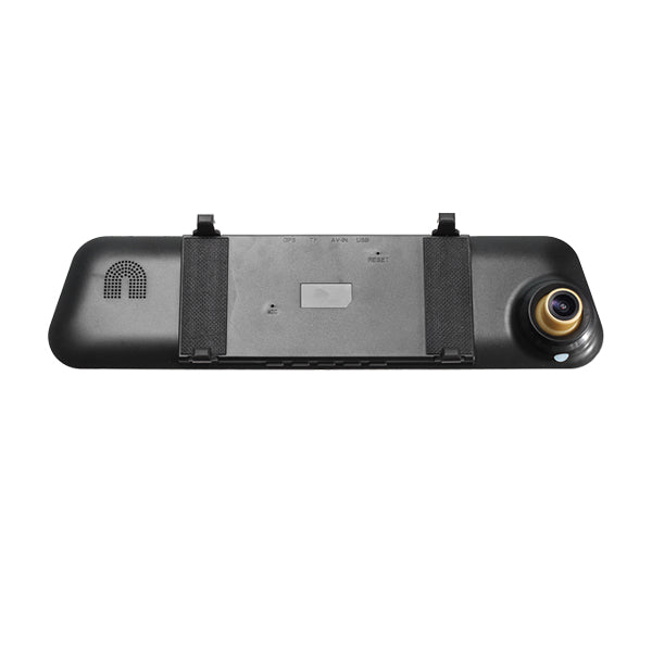 F1C Car DVR Dash Cam Rear View Mirror Camera Backup Video Recorder G-sensor 1080P Dual Lens