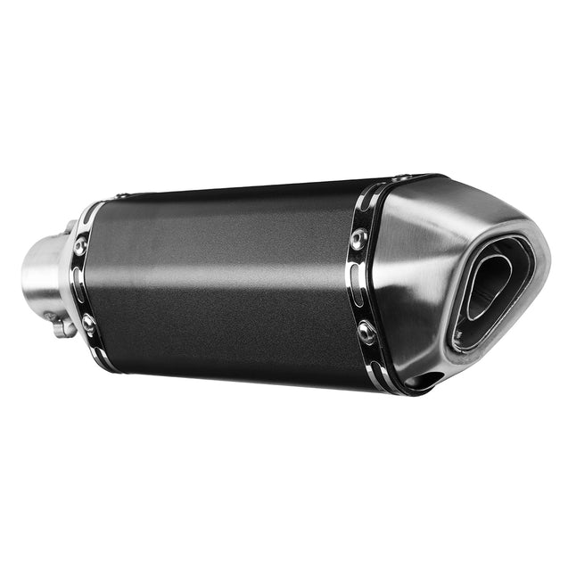 38mm-51mm Motorcycle Exhaust Muffler Pipe with Silencer Slip-On Scooter Universal