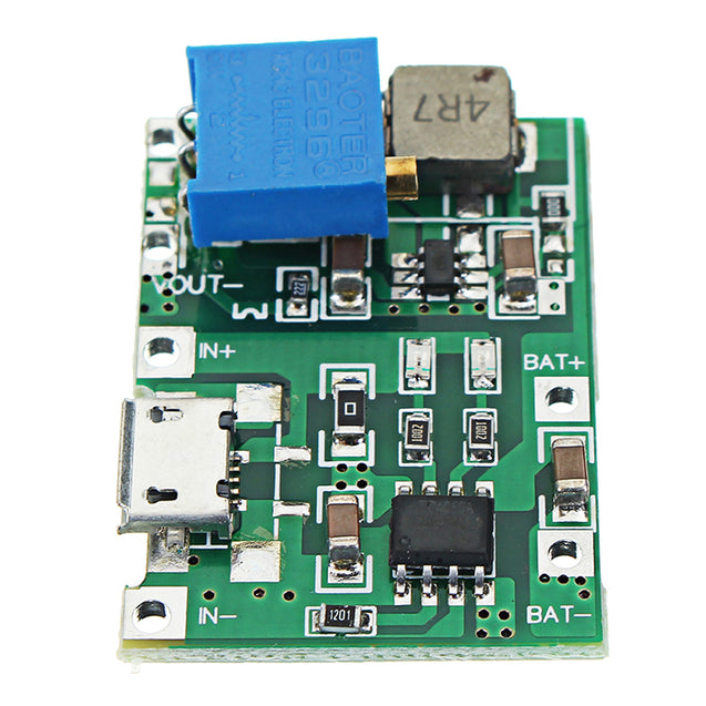 20pcs 3.7V 9V 5V 2A Adjustable Step Up 18650 Lithium Battery Charging Discharge Integrated Module