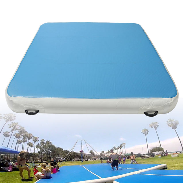 78x118x7.8inch Inflatable Gymnastics Air Track Tumbling Mat Yoga Fitness Training Pad
