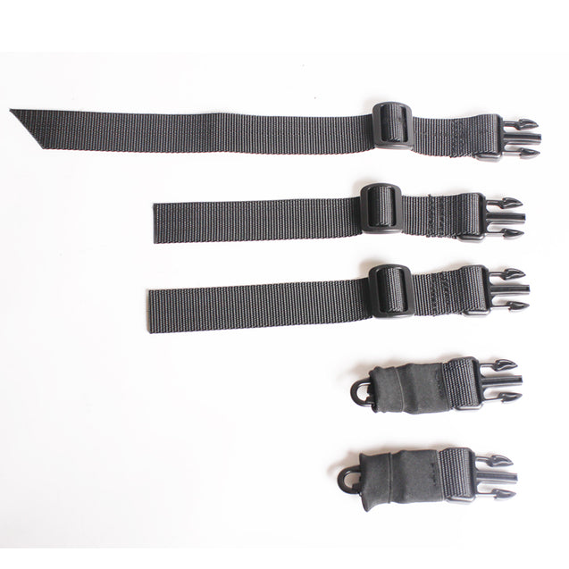 Dual-Point 2 Tactical Sling Swivels Strap Multifunction Mission Adjustable Oblique Crossing Shoulder