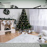 7x5FT White Room Christmas Tree Fireplace Photography Backdrop Studio Prop Background