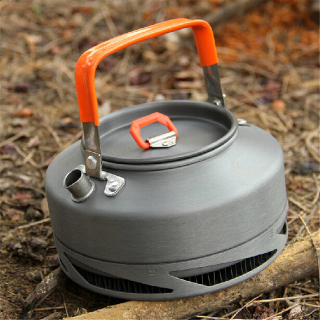 Fire-Maple 0.8L Camping Picnic Water Kettle Heat Exchange Coffee Tea Pot FMC-XT1