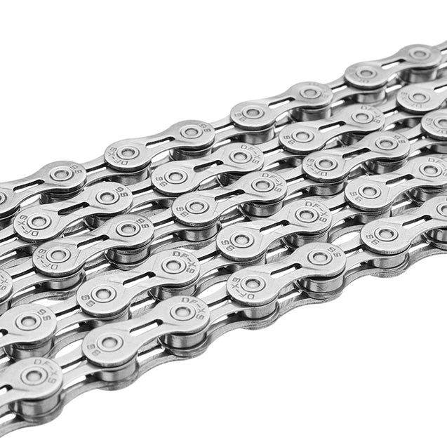 BIKIGHT 9 Speed 116 Link High-carbon Steel Mountain Bike Chain with Magic Buckle Cycling Bike Chain