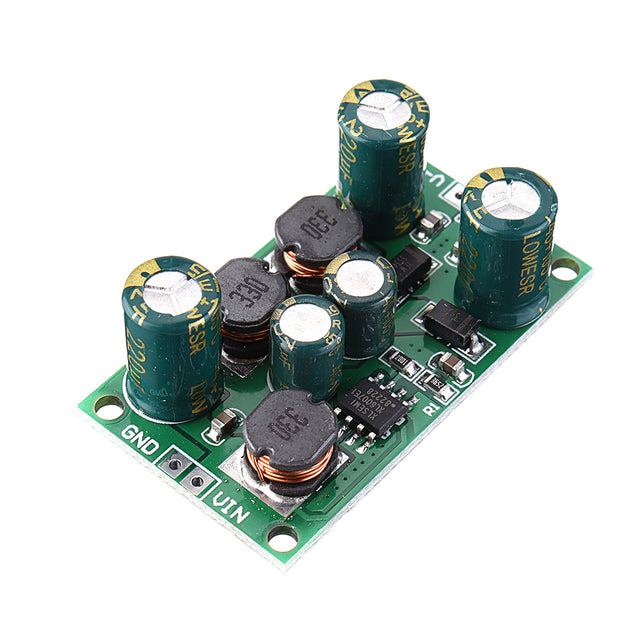 5pcs 2 in 1 8W 3-24V to 5V Boost-Buck Dual Voltage Power Supply Module for ADC DAC LCD OP-AMP Speaker