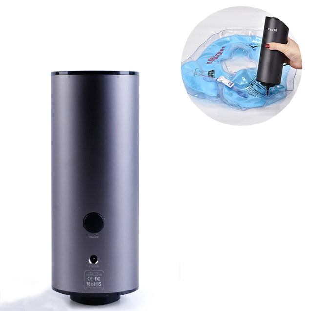 IPRee Air Pump Electric Vacuum Pump Storage Compression Mute Metal Portable Outdoor Home Pump US