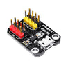 5pcs YwRobot USB Power Supply Module Micro USB Interface 3.3V 5V 1117 Chip