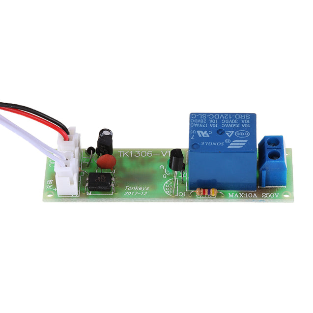 3pcs TK1305A 12V DC Multifunctional Time Delay Relay Module with Optocoupler Isolation