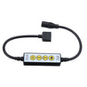 DC5-24V 6A 4 Keys 5PIN RGBW LED Strip Light Dimmer Controller