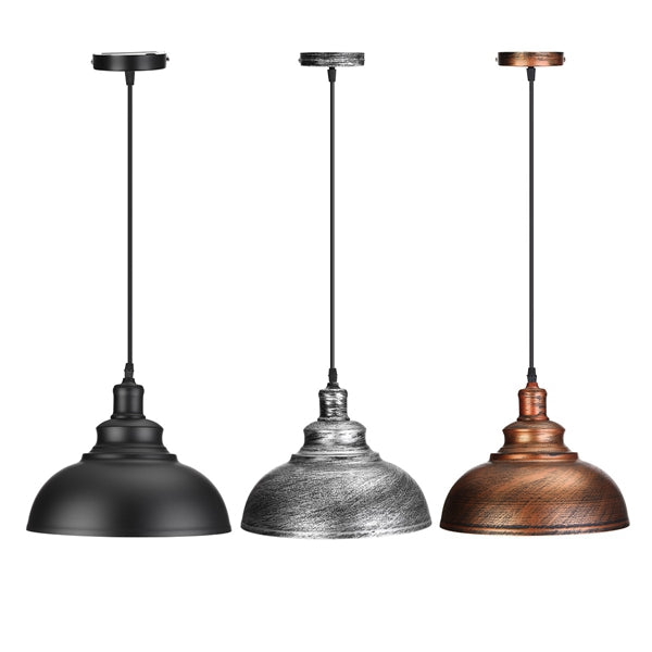Vintage E27 Ceiling Light Pendant Retro Lamp Industrial Loft Iron Chandelier