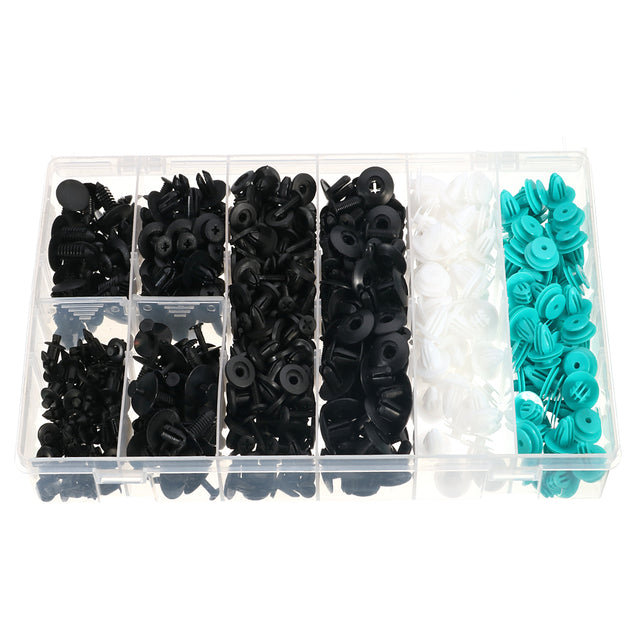 405 Pcs Auto Car Pushpin Rivet Trim Clip Assortment Kit For Ford For Toyota For Honda