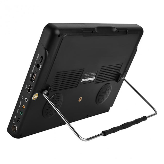 Leadstar D12 Portable 12 Inch TFT HD VGA ATSC ATSC.M/H TV Television Digital Analog Support Dolby