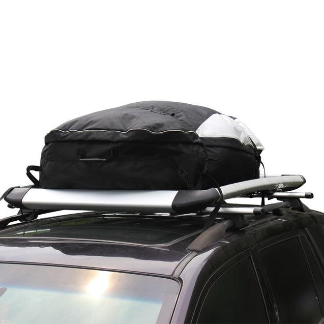 105 x 80 x 45cm Waterproof Cars Roof Top Cargo Carrier Bag Travel Storage Pack Saddlebags