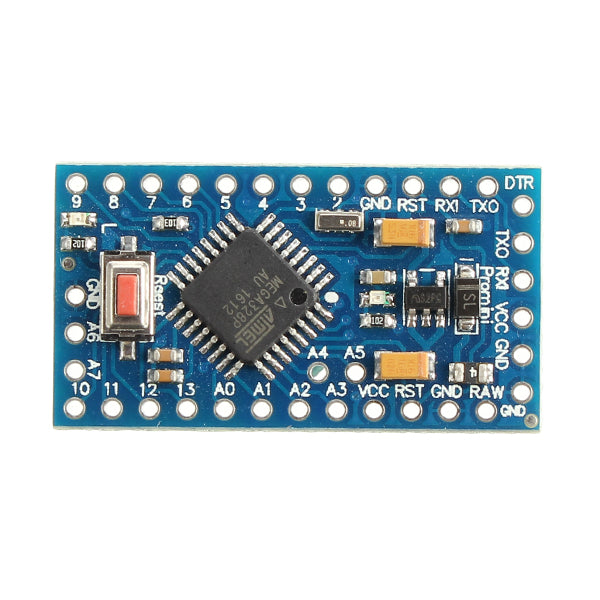 5Pcs Pro Mini ATMEGA328P Module 3.3V 8M Interactive Media Upgrade Version For Arduino